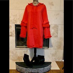 NWT ASOS x ELVI Oversized Sweatshirt Dress, sz 12